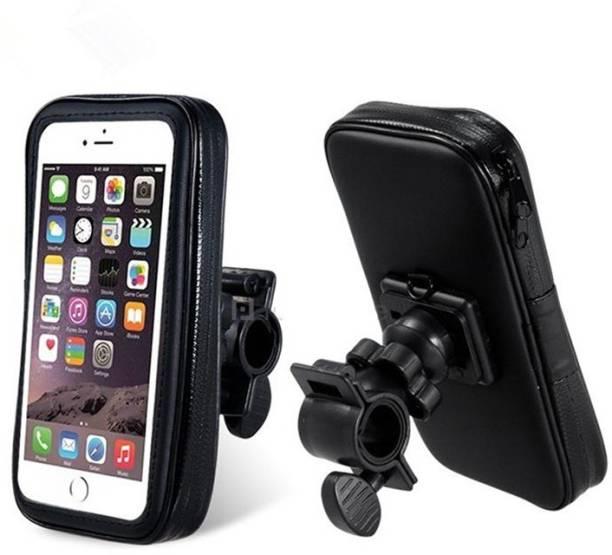 Font mobile Holder zip pouched mount stand for bike Bike Mobile Holder