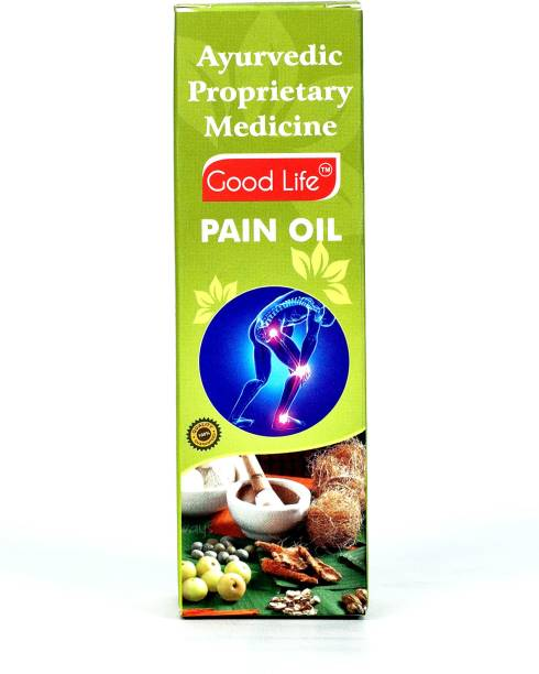 Good Life Pain Relieving Oil Ayurvedic Proprietanry Medicine An Ayurvedic Blend ( PAIN OIL ) Joint Pain Relief Oil Joint Care Oil for Back, Knee, Shoulder Pain Liquid