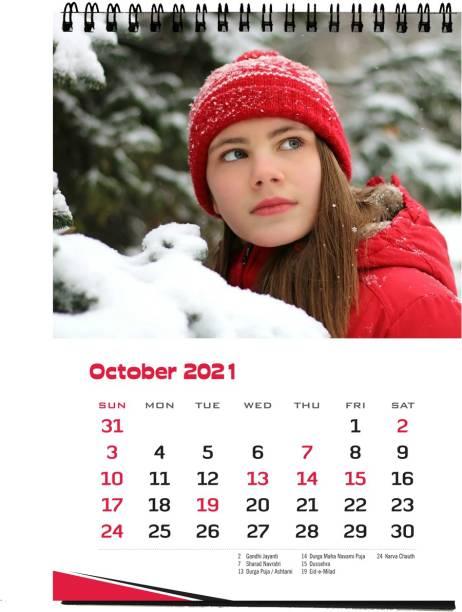 REGALOS Christmas Table Calendar 2021 2021 Table Calendar