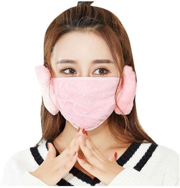New Vastra Lok Mask + Ear Muff Pink Ear Muff