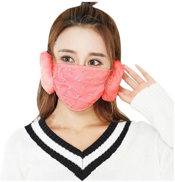 New Vastra Lok Mask + Ear Muff Orange Ear Muff