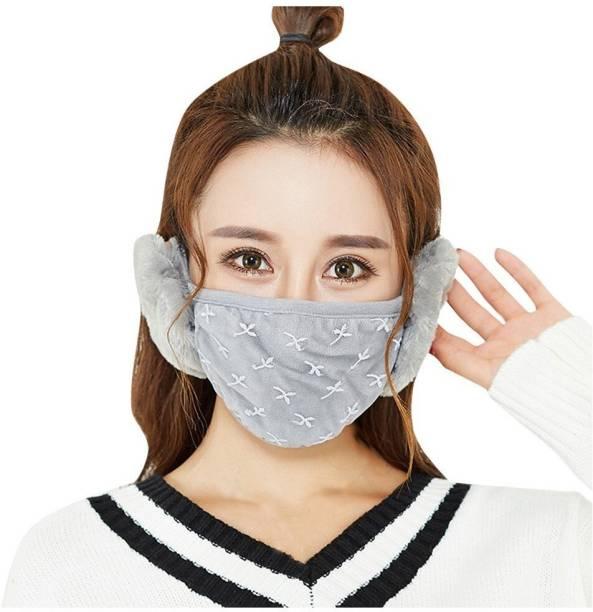New Vastra Lok Mask + Ear Muff Grey Ear Muff