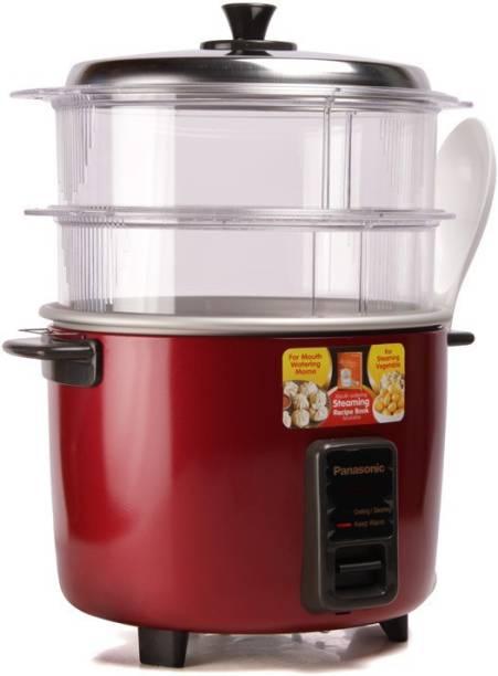 Panasonic SR-WA18H (SS) Food Steamer, Rice Cooker