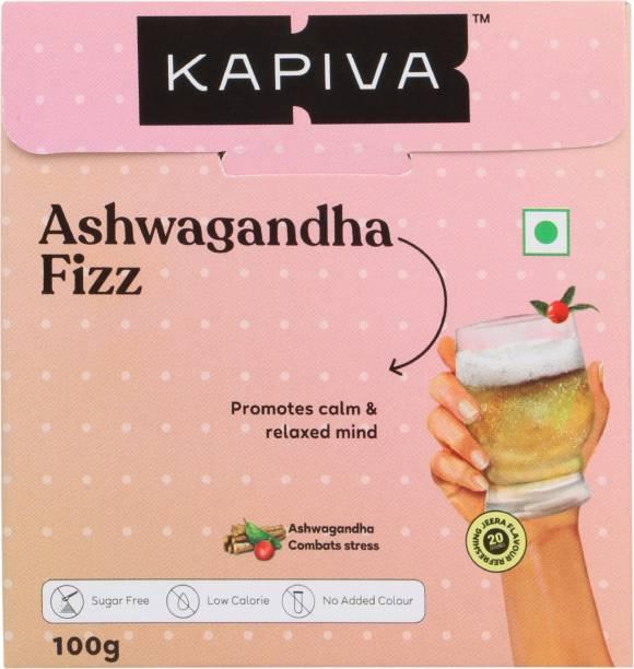 Kapiva Ashwagandha Fizz Effervescent Powder - Jeera Flavour Energy Drink