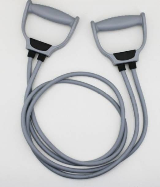 Shopeleven Double band resistant band for pull rope toning tube for full body exerciser Resistance Band