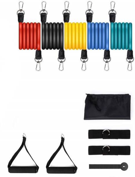 Mypro Sport Nutrition Resistance Bands 11 pcs Set of Exercise Bands Include 5 Different Exercise Bands Resistance Band