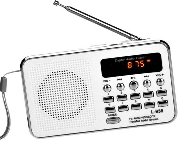 CRETO L938 Digital Radio Fm USB Player Support aux and memory card FM Radio