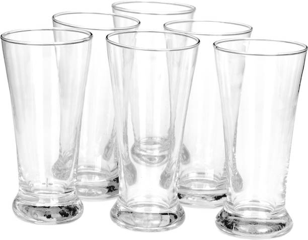 Somil (Pack of 6) Stylish Clear Transparent Multipurpose Drinking Glass- R11 Glass Set