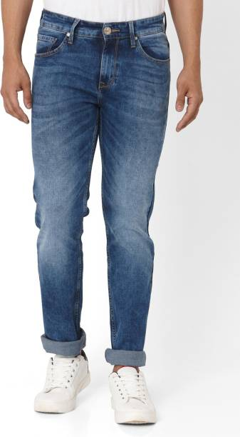 MUFTI Tapered Fit Men Blue Jeans