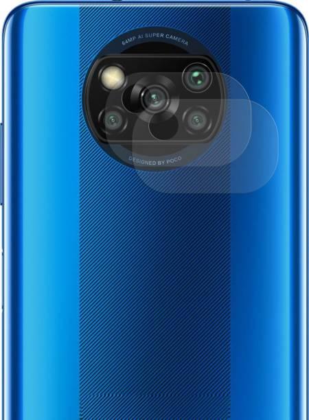Karpine Back Camera Lens Glass Protector for Poco X3