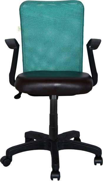 Flipkart Perfect Homes MESHX Leatherette Office Arm Chair