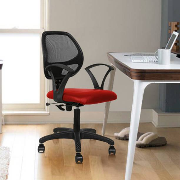 Flipkart Perfect Homes Moon Leatherette Office Arm Chair