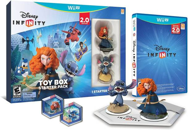 Disney INFINITY: Toy Box Starter Pack (2.0 Edition) - Wii U (Ultimate Evil Edition)