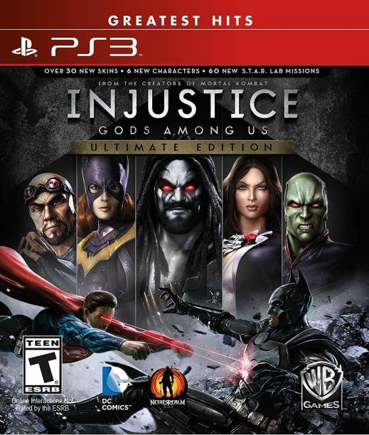 Injustice: Gods Among Us Ultimate Edition - PlayStation 3 (Greatest Hits) (Ultimate Evil Edition)