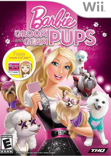 Barbie: Groom and Glam Pups (Nintendo Wii) (NTSC) (Ultimate Evil Edition)