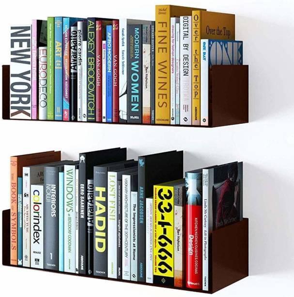 Dime Store Engineered Wood Open Book Shelf