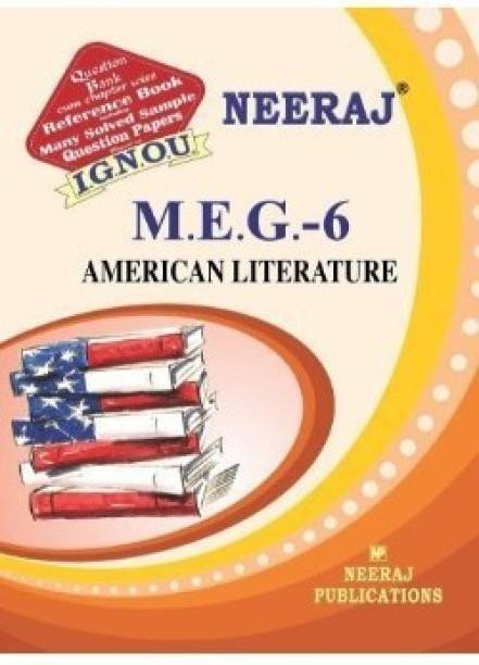 MEG6-American Literature-IGNOU Help Book Guide For MEG6 ( English Medium | Neeraj Publications )