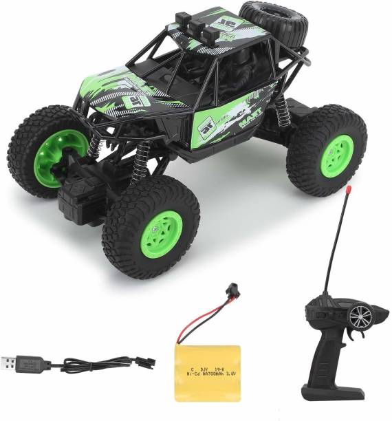 Dallao Waterproof Remote Controlled Rock Crawler RC Monster Car With Wheel Remote , 4 Wheels , 1 Stepnee, , 1:20 scale