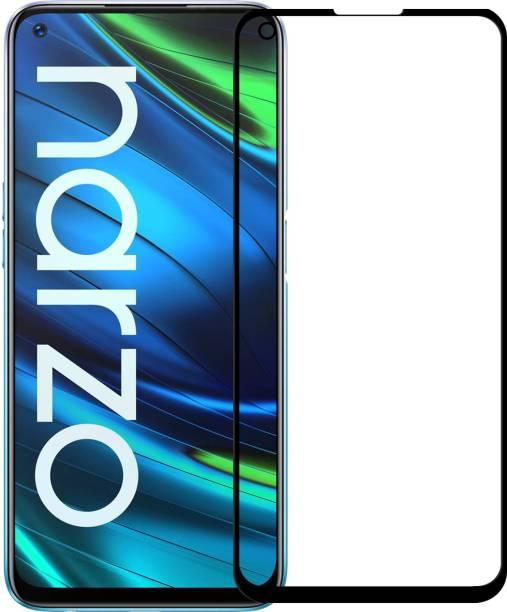 Karpine Edge To Edge Tempered Glass for Realme Narzo 20 Pro