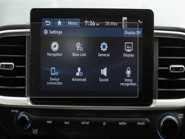 TODO DEALS Screen Guard for Hyundai Venue SX Dual Tone Turbo MM