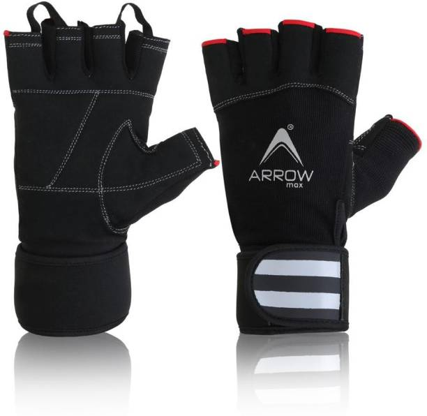 ArrowMax Panther sports and gym gloves with wrist support Gym & Fitness Gloves