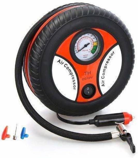 Vezimon 260 psi Tyre Air Pump for Car & Bike