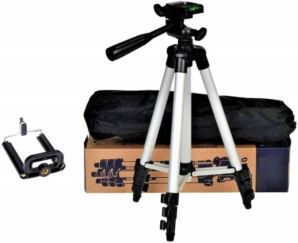 Yug 3110 Tripod Stand , High Quality Tripod Stand 360 Degree 3110 Portable Digital Camera DSLR Mobile Stand Holder Camcorder Tripod Stand Adjustable Head Lightweight Aluminum Flexible Portable Three-way Head tik tok stand Compatible Al Smartphone Best Use for Make Videos Tripod, Tripod Kit, Tripod Bracket, Tripod Ball Head, Tripod Clamp