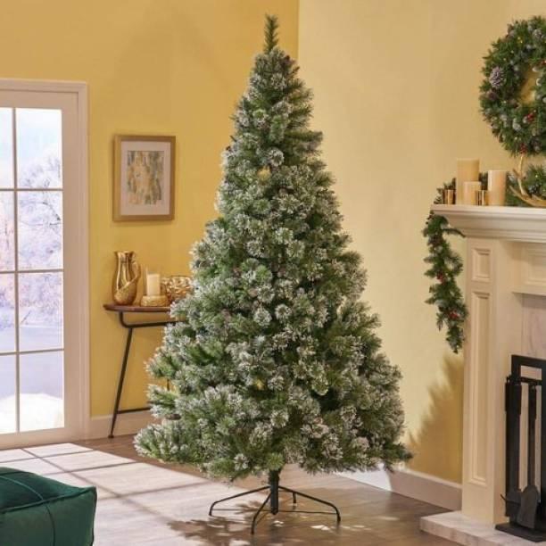 Tanishka Creations Pine 150 cm (4.92 ft) Artificial Christmas Tree