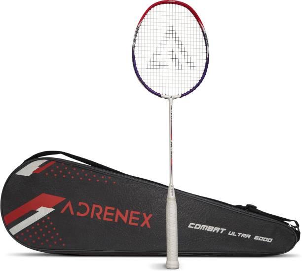 Adrenex by Flipkart Combat Ultra 6000 Graphite Multicolor Strung Badminton Racquet