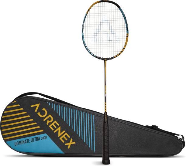 Adrenex by Flipkart Dominate Ultra 5000 Multicolor Strung Badminton Racquet