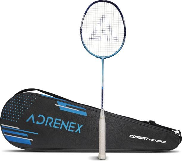 Adrenex by Flipkart Combat Pro 8000 Graphite Multicolor Strung Badminton Racquet