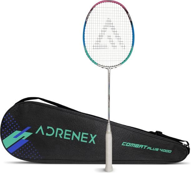 Adrenex by Flipkart Combat Plus 4000 Graphite Multicolor Strung Badminton Racquet