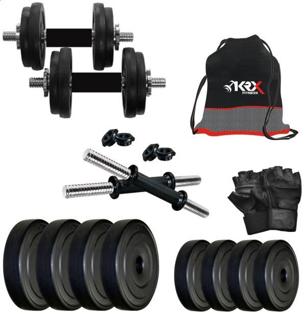 KRX PVC 10 KG DMCOMBO 3 Adjustable Dumbbell