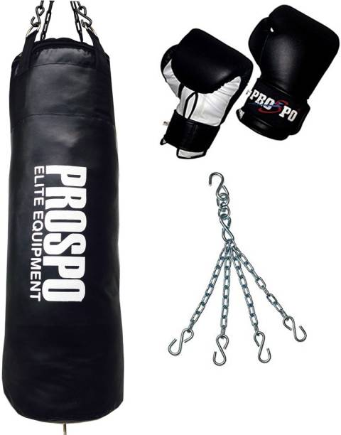 "PROSPO 36"" Synthetic Leather Extra Heavy duty Pack Boxing Kit"