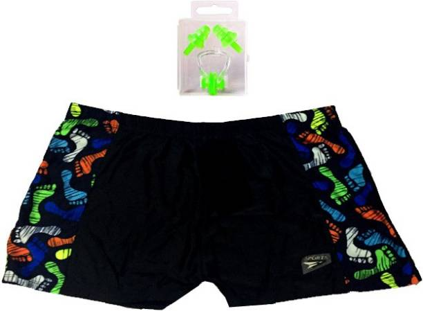 Vinto PREMIUM QUALITY MALE COSTUME 36 48 WAIST WITH EAR PLUG NOSE PLUG Swimming Kit