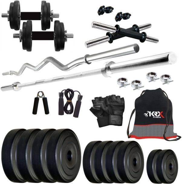 KRX 40 kg PVC COMBO 2 Home Gym Combo
