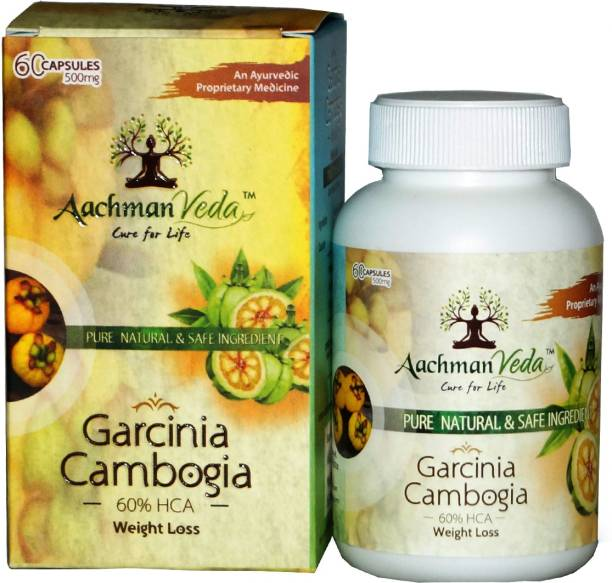 Aachman Veda Garcinia Cambogia Extraxt With 60% HCA For Weight Loss