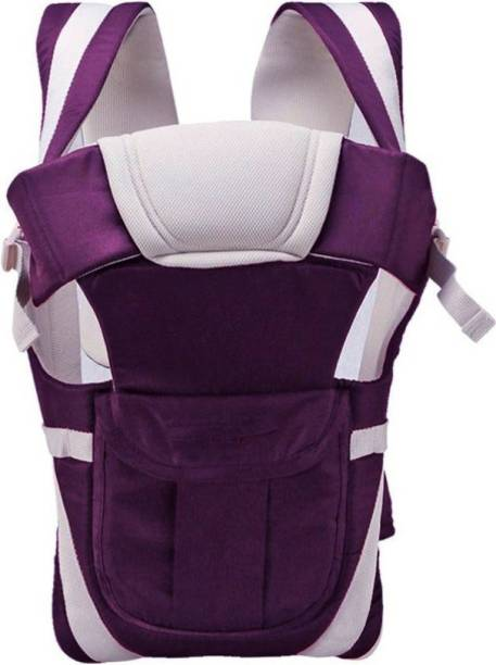 Honey Boo 4-in-1 Adjustable Baby Carrier Cum Kangaroo Bag/Baby Carry Sling/Back/Front Carrier for Baby with Safety Belt and Buckle Straps Baby Carrier