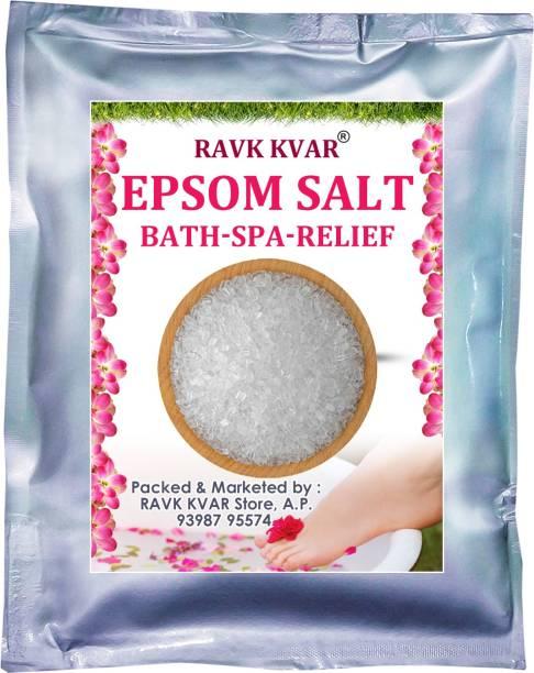 MONEY SAVING EPSOM BATH SALT for Bath spa Pain relief Foot relax Stress