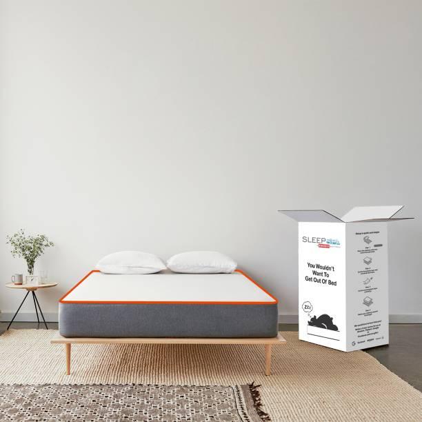 Sleep Spa MAT Multilayered Premium Orthopedic 5 inch Single Memory Foam Mattress