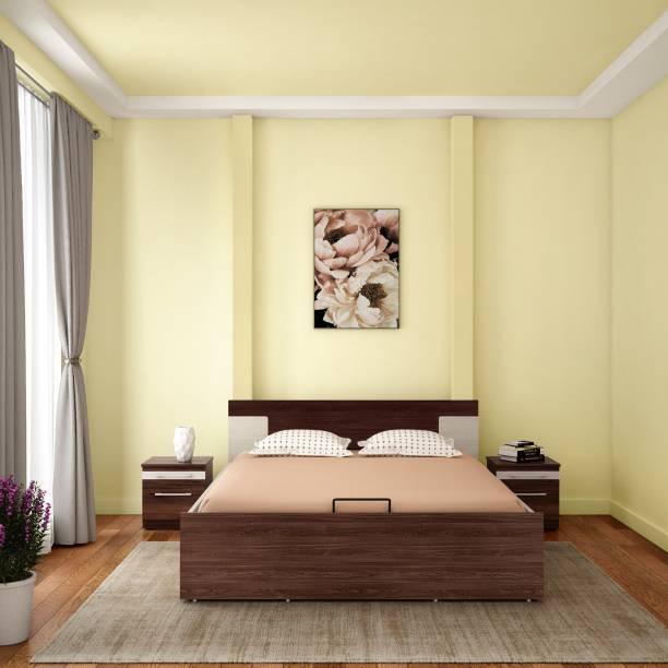 Godrej Interio Kontrast Full Hydraulic Engineered Wood Queen Hydraulic Bed