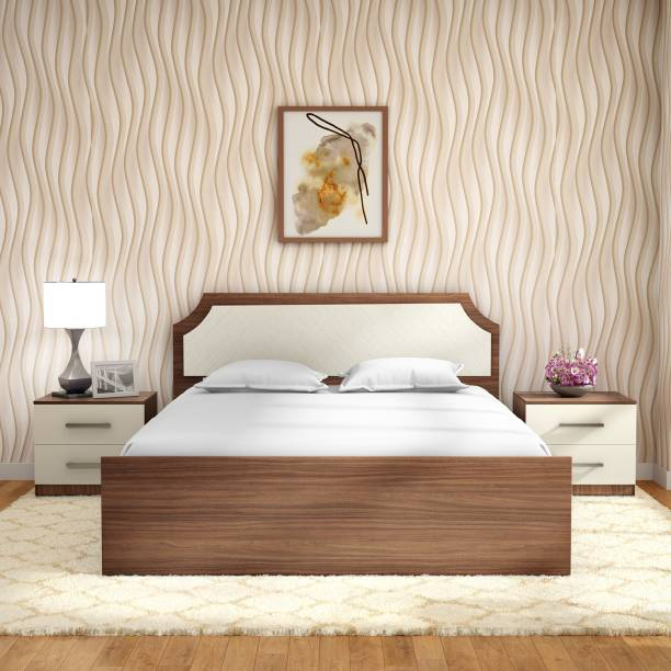 Godrej Interio Engineered Wood Queen Drawer Bed