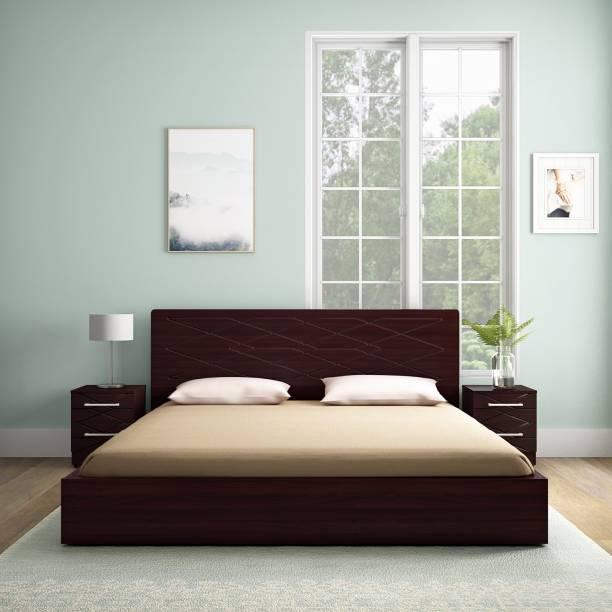 Godrej Interio Maze Engineered Wood King Box, Drawer Bed