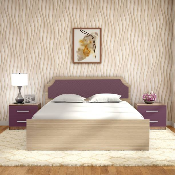 Godrej Interio Engineered Wood Queen Box Bed