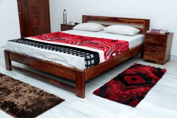 Modway Solid Wood Queen Bed