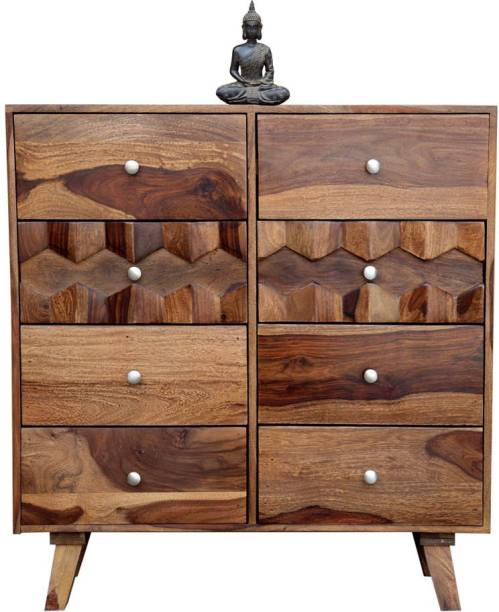 o my furniture Solid Wood Free Standing Chest of Drawers