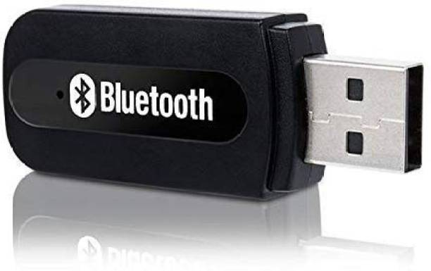 Trueshop v4.1 Car Bluetooth Device with USB Cable, Adapter Dongle, 3.5mm Connector, MP3 Player