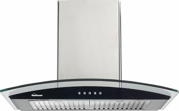SUNFLAME Lotus 60 SS DX Auto Clean Wall Mounted Chimney