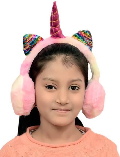 Dressify Multi Color Unicorn Ear Muff Ear Muff