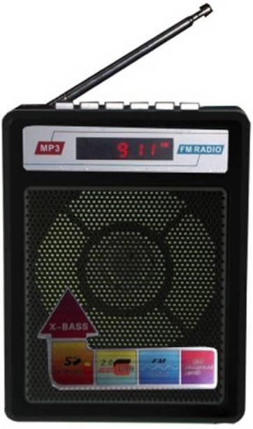 CRETO Latest best quality fm radio support memory card usb pendrive FM Radio